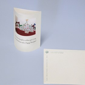 Graphic Design: Christmas Pop-Up Card