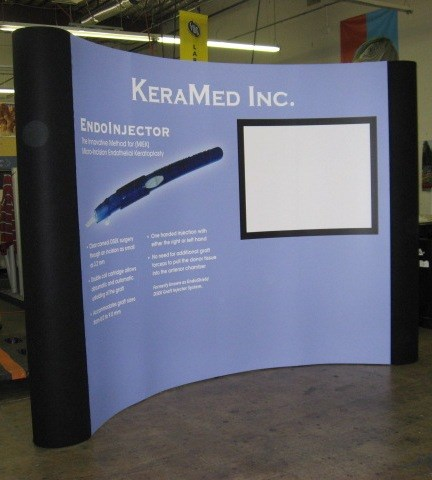 Large Format Design: Keramed Tradeshow Booth