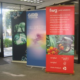 Large Format Design: FWG Eco Pull Up