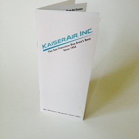 Graphic Design: Kaiser Air Brochure