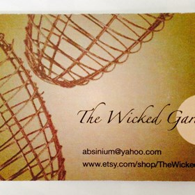 Graphic Design: Business Card - Wicked Garden